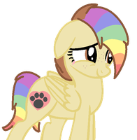 Rainbow Crash as a Pony by SNlCKERS