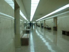 Courthouse Hallway by BrettLove