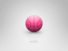 Dribbble Ball! by rodrigoDSCT
