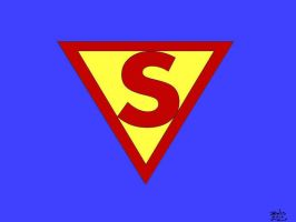 Golden Age Superman Logo by jmralls2001