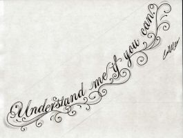 UNDERSTAND Chest Tattoo Design by NarcissusTattoos