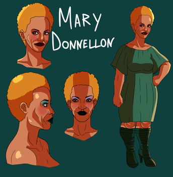 Mary Donnellon Concept Art by alston123