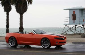 Camaro Convertible Side by TheCarloos
