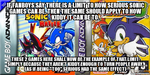Sonic's kiddy limit by Psyco-The-Frog