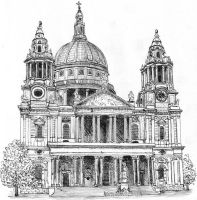 St Paul's Cathedral by neral85