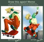 -Meme- Before and After by Evanyia