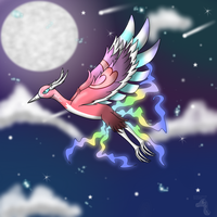 Night Fly by AnnaLena250199