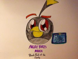 ABM: Black Bird of the Family by RussellMimeLover2009