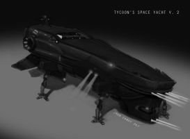 Black Space Yacht V. 2 by the-other-hand