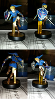 Blue Link Amiibo by Desertmoongw
