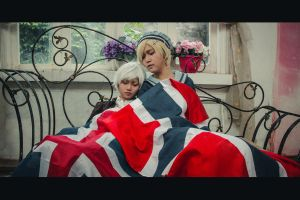 [APH Nordics] Till the end [Cosplay] by Enbi-to-Miruku