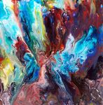 Fluid Painting 46 by Mark-Chadwick