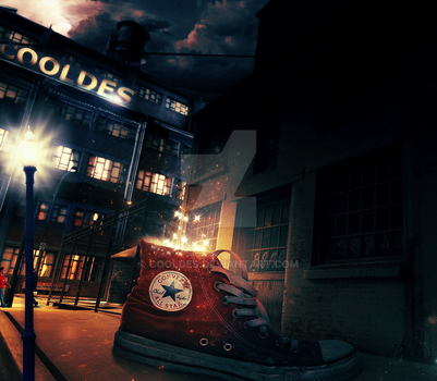 Giant Converse by CoolDes