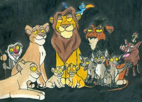 Lion King Guy by wahyawolf
