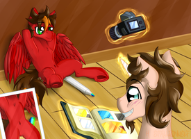 Take a picture, it lasts longer XP by H-StallionWolf