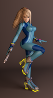 Zero Suit Samus by dnxpunk