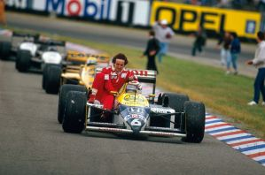 Alain Prost | Nelson Piquet (Germany 1987) by F1-history