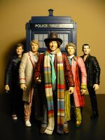 My Five Doctors by DoctorWhoNC
