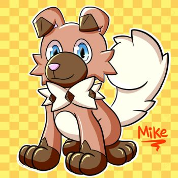 Rockruff by LucarioOcarina