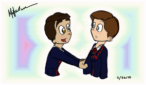 Just a little Klaine by LillyCrystal