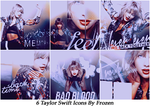 Taylor Swift icons by ItsFrozen