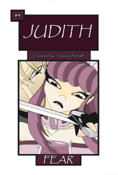 Judith issue 4 cover by ElvanJudith