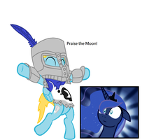 Priase the Moon by metalsonic612
