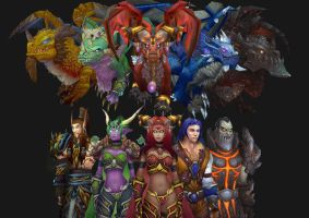 WoW - The Dragon Aspects by Ereptile