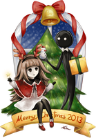 DEEMO - Christmas 2013 by Kikansha