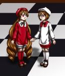 White and red bishops digital by PurpleRedRose