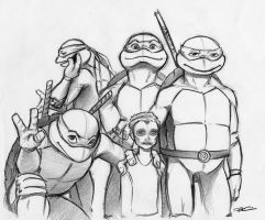 I Like Turtles by RobtheDoodler