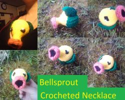 Bellsprout Necklace by neko-of-lotherian