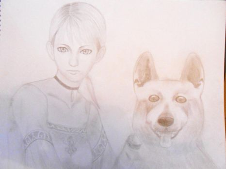 Miss Fiona and Hewie by Yuuki-Shinde-Hime