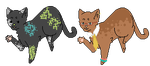 Cat adopts - 1/2 open by Maes-adopts
