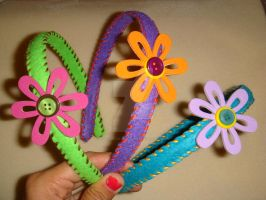 Spring - Headbands by colourful-blossom