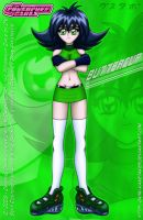 Buttercup Anime Style and sexy by DARTH-KANETAKER