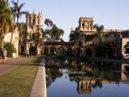 Lily Pond 1, Balboa Park by Debit