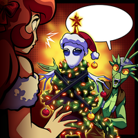 TH - Tapastic Holiday Caption Contest 2014 by IntroducingEmy