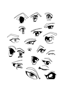 Anime Eyes by i-live-here-2day