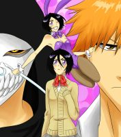 Adventures of Chappy Rukia by kitsune23star