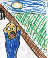 The Scream by Hafukyoudai