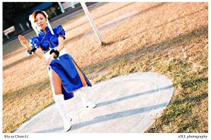 Street Fighter: Chun-Li by z3LLLL