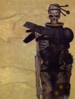 Gerald Brom Study 6 Day #139 by AngelGanev