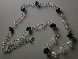 Crystal Necklace by MadDani
