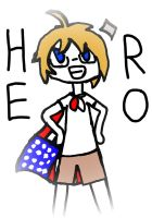America Doodle by Linny235