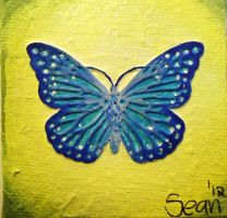 Blue Butterfly by ImpsonGreen