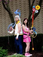 acen 2009 Riku and Kairi by Rikukingdom
