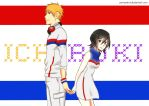 IchiRuki Week: Old School by Pamianime