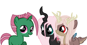 These Fillies are Pretty Cool by Caro-Kitty