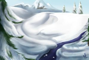 Frozen Land by SnowBumbee